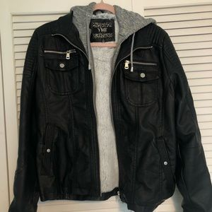 YMI Faux Black  Jacket